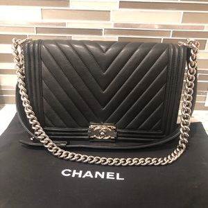 adb79e9786a808 Women Chanel Boy Bag on Poshmark